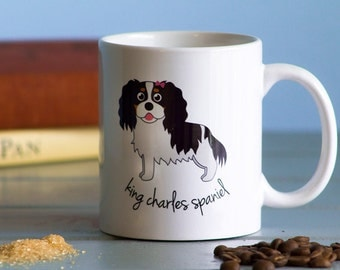 King Charles Spaniel Mug (girl)