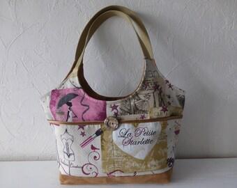 Bag in hand, fabrics, jacquard, suede, retro, romantic, trend, sewing