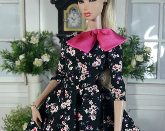 "Cherry Blossom  - Look 1 - Fashion for Fr2 and same size 12"" doll"