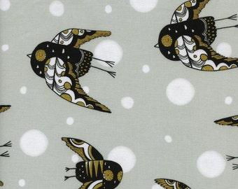 Cotton + Steel- Night owl in neutral- Sleep Tight- Sarah Watts