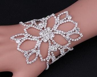 bride wedding bracelet anklet Alikah