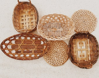 Mini Collection of Wall Baskets/ Set No.2