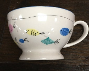 Fish in the sea mugs