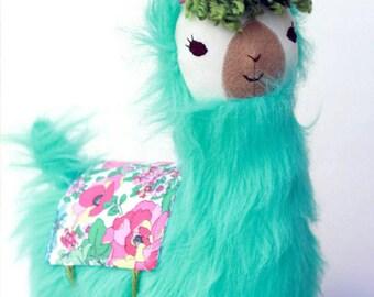 Lulu Llama Pillow Pal. Fully Customizable! Made to order. FREE SHIPPING!