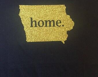 "Iowa team sports Iowa ""Home"" Shirt"