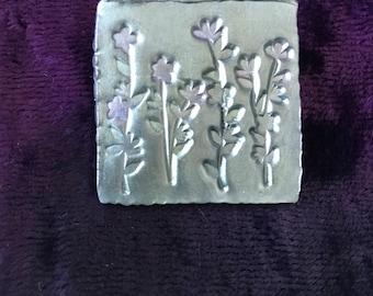 Rustic Flower Brooch