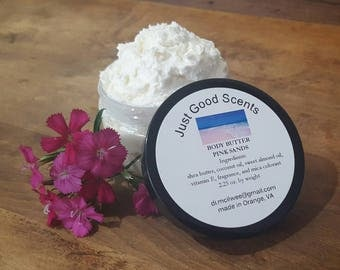 Whipped Body Butter - 4 ounce (by volume) 2.5 ounce by weight