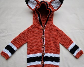 Hooded Fox Sweater
