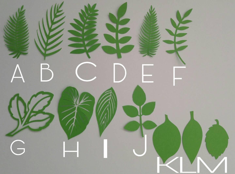 Etsy product birthday party ideas themes for Decoraciones para hojas