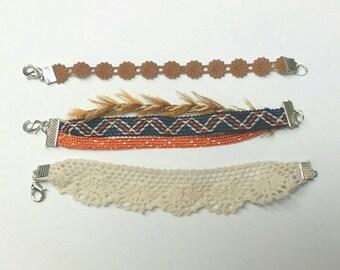 Boho chic' bracelet/anklet collection