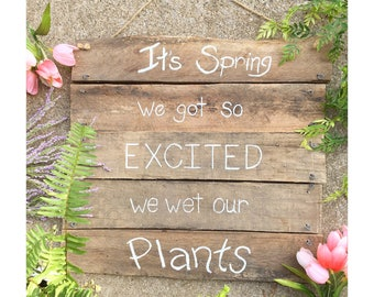 It's Spring Sign FREE SHIPPING