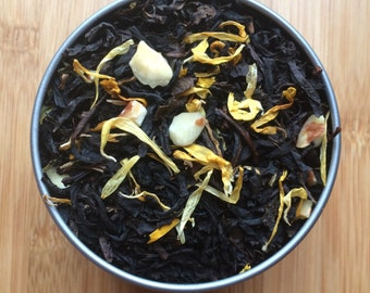 Butter Rum and Almonds Loose Leaf Tea & Hand-Filled Tea Bags