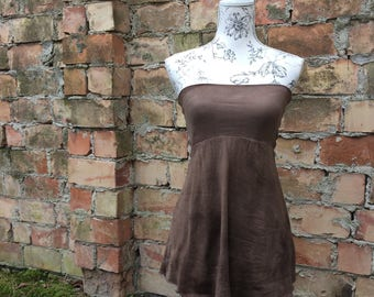 organic ~minta~ pixie dress/ skirt/ top size s/m