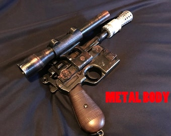 Star Wars Han Solo Blaster replica Han Solo Cosplay collection 1/1