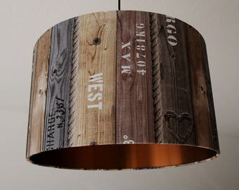 "Ceiling lamp ""Ahoy-copper"""