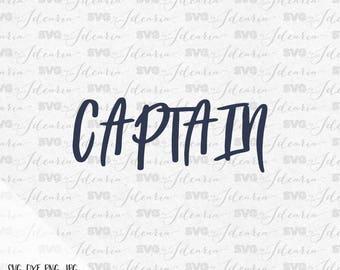Captain Svg, nautical svg, summer svg, beach svg, rudder svg, anchor svg, mermaid svg, pineapple svg, flip flop svg, lake svg, sea svg