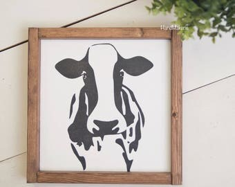 """COW """"Painted Frame"""""""