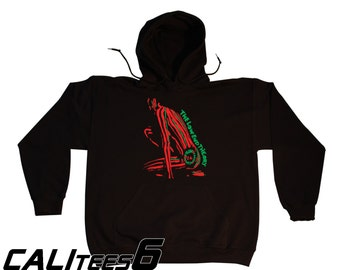 The Low End Theory Hoodie Hooded Sweatshirt - Old School Hip Hop - ATCQ - A Tribe Called Quest