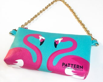 Pouch pocket with chain thetravellovebag