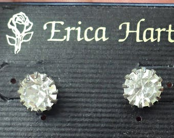 VINTAGE very nice pierced  Earrings /L1