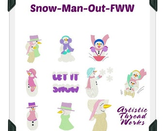 Snowman-Out-FWW ( 10 Machine Embroidery Designs from ATW )