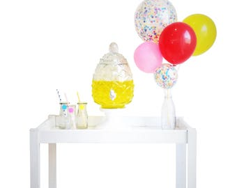 10 x Confetti Balloons Various Colours Available!