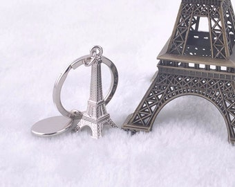 Eiffel Tower Keychain For Keys Souvenirs, Paris Tour Eiffel Keychain Key Chain Key Ring Decoration Key Holder romantic gift for Paris lovers