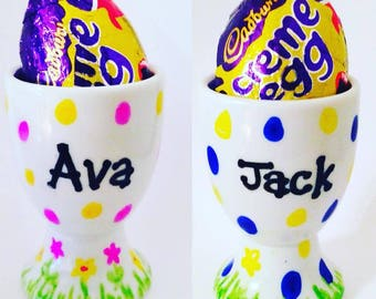 Personalised Easter Egg Cups