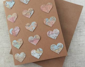 Handmade Heart  Romantic Greeting Card