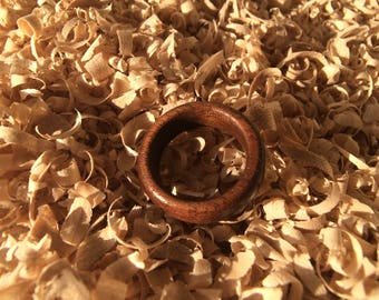 Black Walnut Wooden Ring