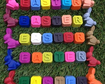 Easter crayons
