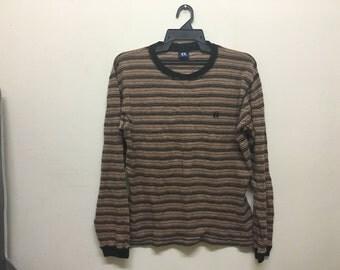 Vintage Hang Ten Stripe Long Sleeve Shirt