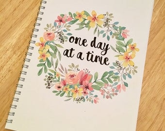 Diet Planner/Diary - 8 Weeks - Slimming/WW/Standard Diet - One Day At A Time