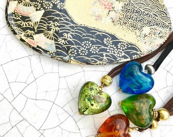 heart pendant as a gift