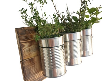 Indoor herb garden Etsy