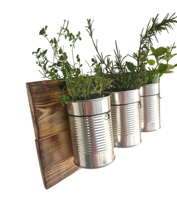 rustic wall planter indoor hanging planter indoor herb. Black Bedroom Furniture Sets. Home Design Ideas