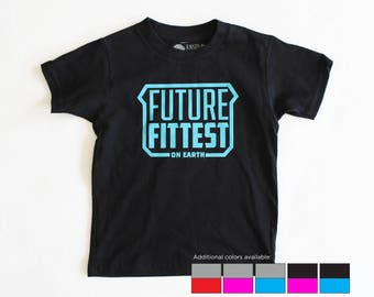 Future Fittest Crossfit Baby Toddler Kid TShirt