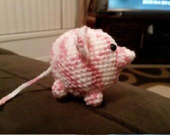 Amigurumi - fat mouse