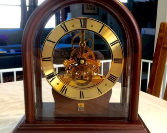 Free Shipping! Beautiful Limited Edition Rare Spartus Mantle Clock Made in Germany