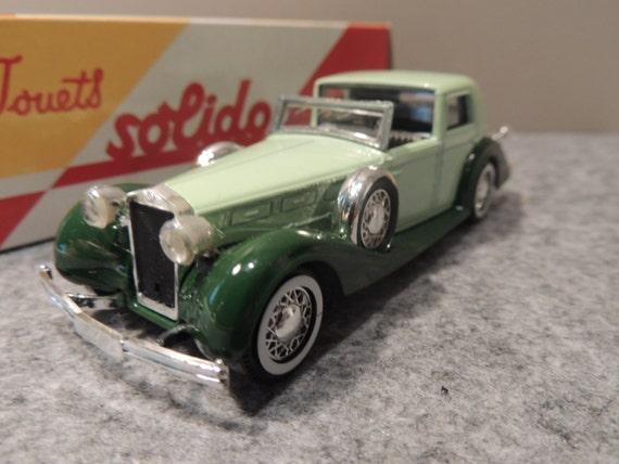 Miniature reissue Solido DELAGE City Cup 1938