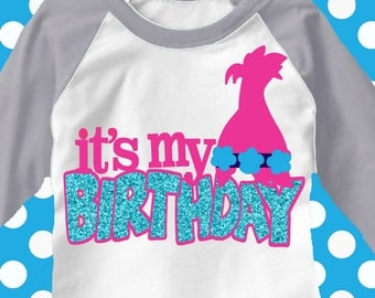 Girl birthday, NOW with Mirrored printable for iron on Transfers, big hair svg, it's my birthday svg, birthday iron on, birthDAY svg