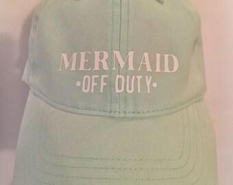 Mermaid Off Duty Hat Mermaid Mermaid Hat Most Popular Best