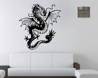 Chinese Dragon wall vinyl or sticker