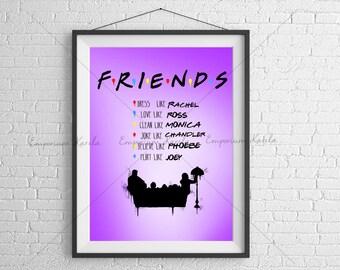 Friends - Poster - Digital - printable