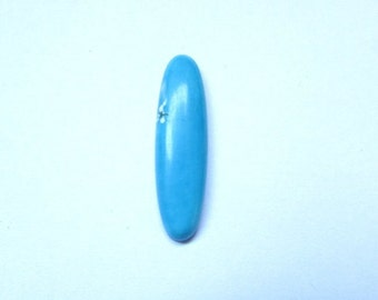 1 pcs 28x8mm Sleeping Beauty Arizona TURQUOISE Oval Cabochon Smooth polished gemstone