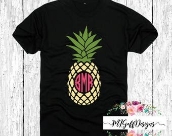 Custom pineapple T-Shirt
