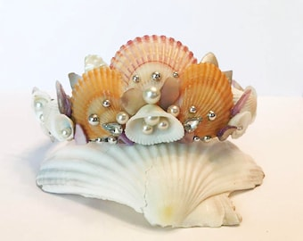 Mermaid Crown - Shell Tiara