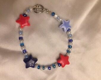 Handmade Star Beaded Bracelet