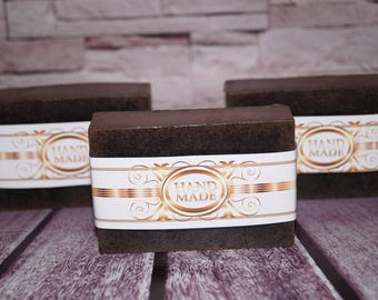 Soaps Gift for her Coffee gift Soap Gift soap Coffee lover Natural bar soap Soap vegan All natural soap Scrub soap Mens soap Soap coffee
