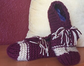 Knitted Slippers, Comfortable House Shoes, Summer/Winter Slippers, Sports Team Slippers